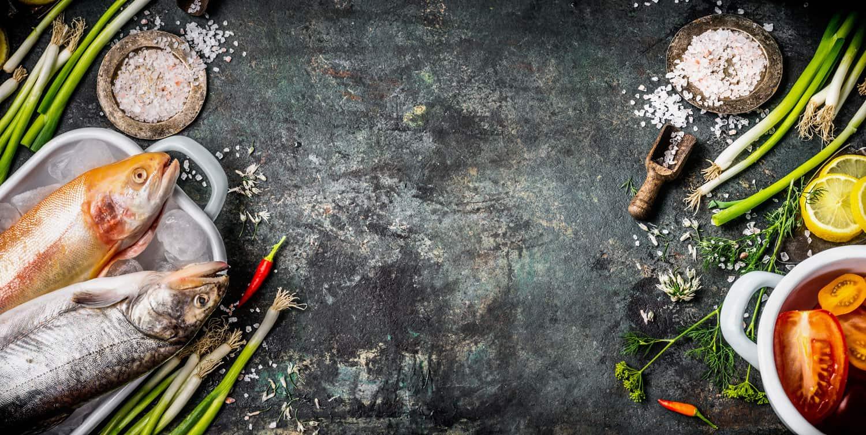 banner verse vis bereiden kookstudio aalsmeer